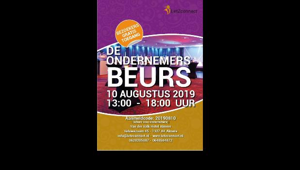 Ondernemersbeurs Almere – 10 augustus 2019